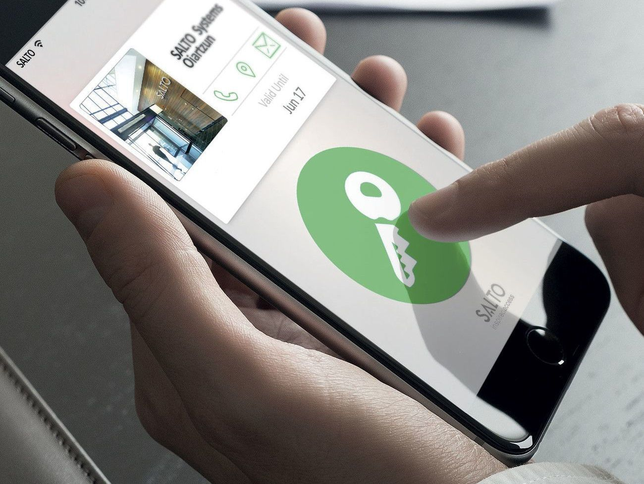 Khóa Salto - Khóa cửa mở bằng Smartphone thông minh nhất