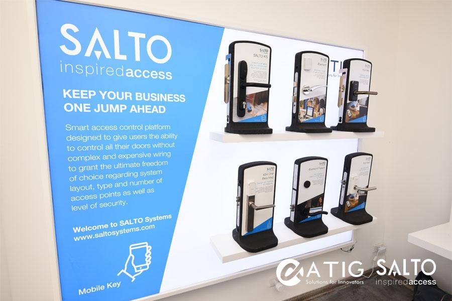 Khóa Salto – Giải pháp khóa thông minh đảm bảo hệ thống an ninh cho chung cư