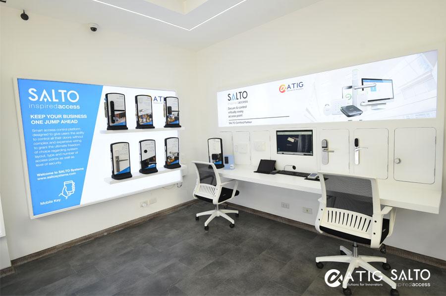Tưng bừng khai trương Showroom Khoá SALTO tại Hà Nội