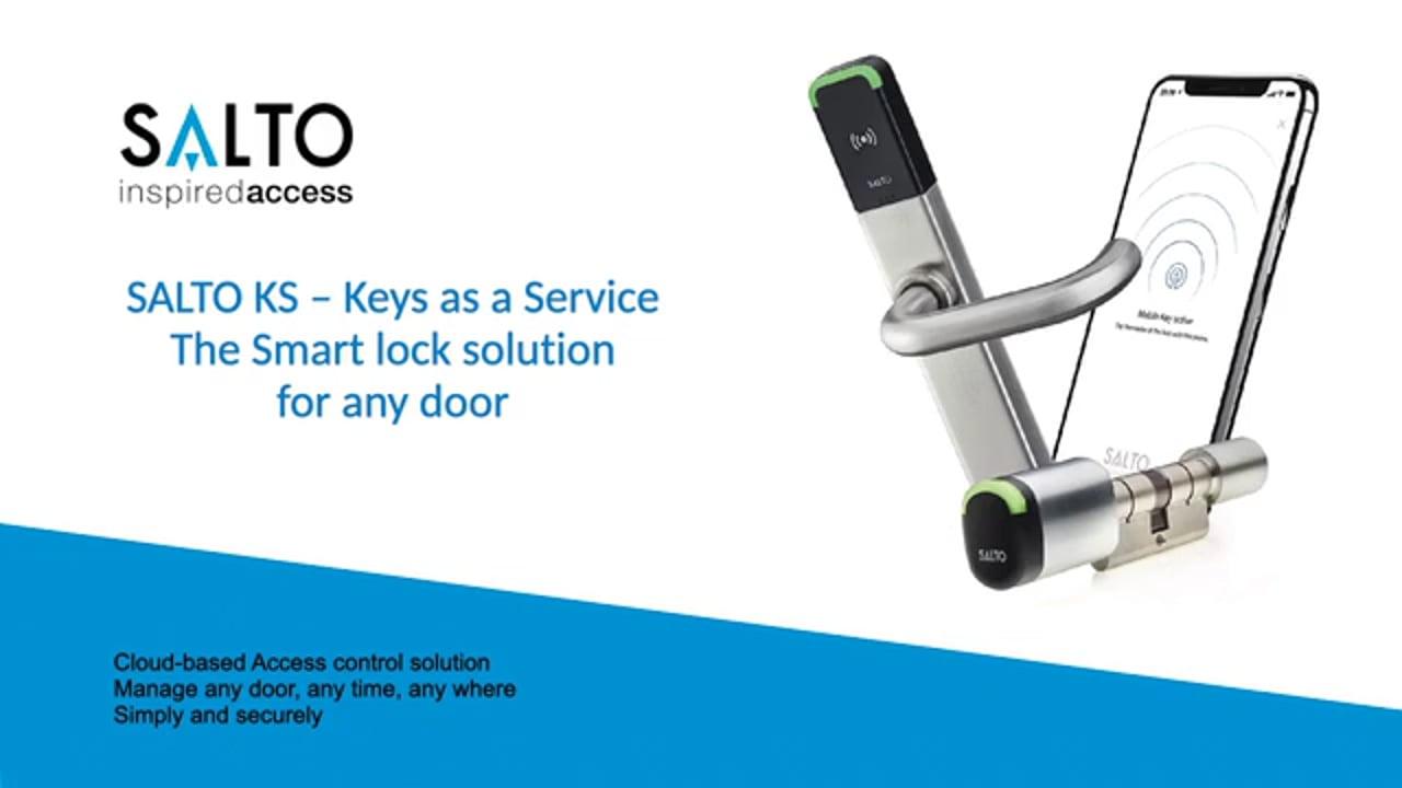 Khoá Salto giúp bạn quản lý văn phòng hiệu quả hơn thông qua nhóm Access