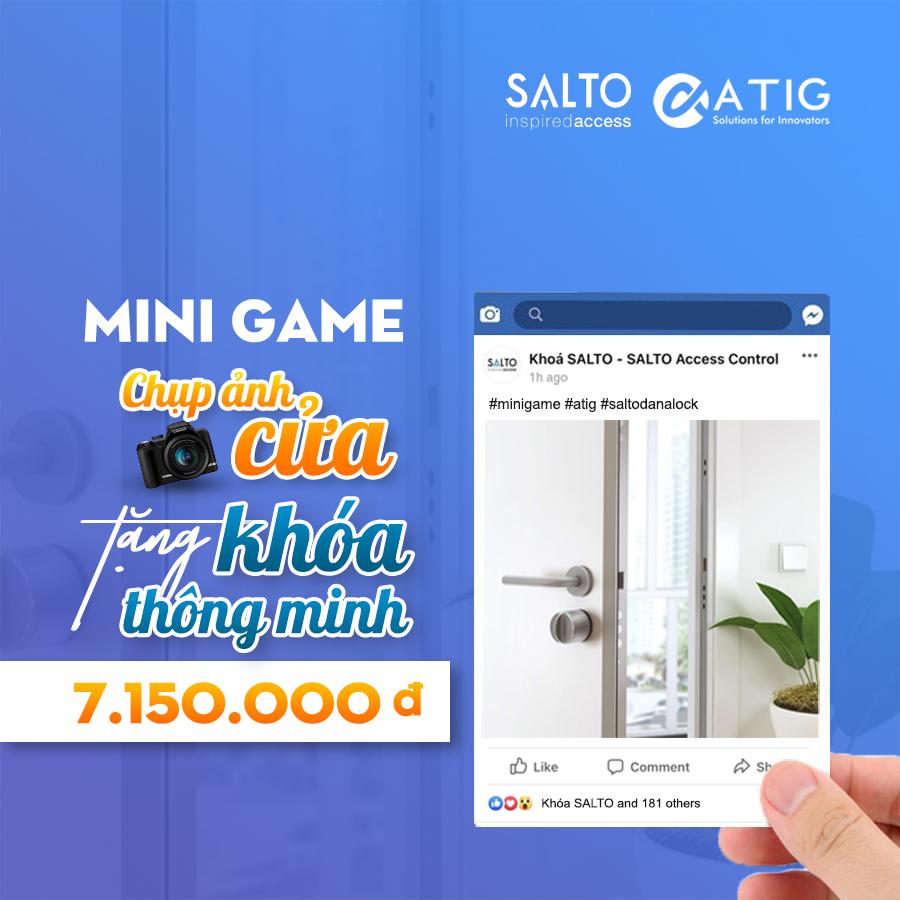 [Minigame] Chụp ảnh cửa tặng khoá thông minh