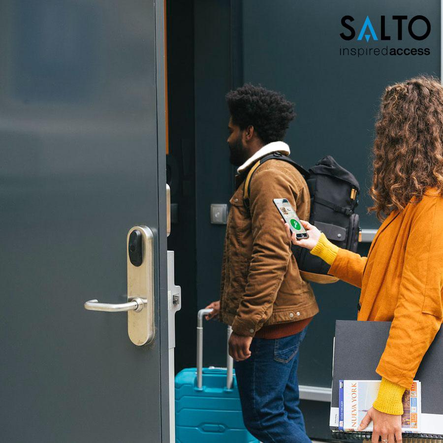 SALTO KS - Hệ thống kiếm soát cửa ra vào văn phòng hiệu quả