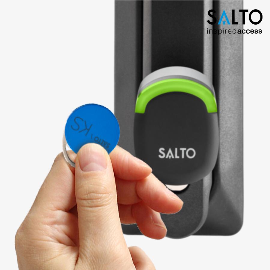 Lợi ích tuyệt vời của hệ thống quản lý khoá cửa thông minh SALTO KS