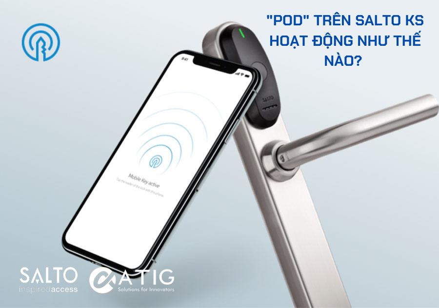 Khóa Salto – Cho phép người thuê của bạn quản lý không gian riêng của họ với Pod