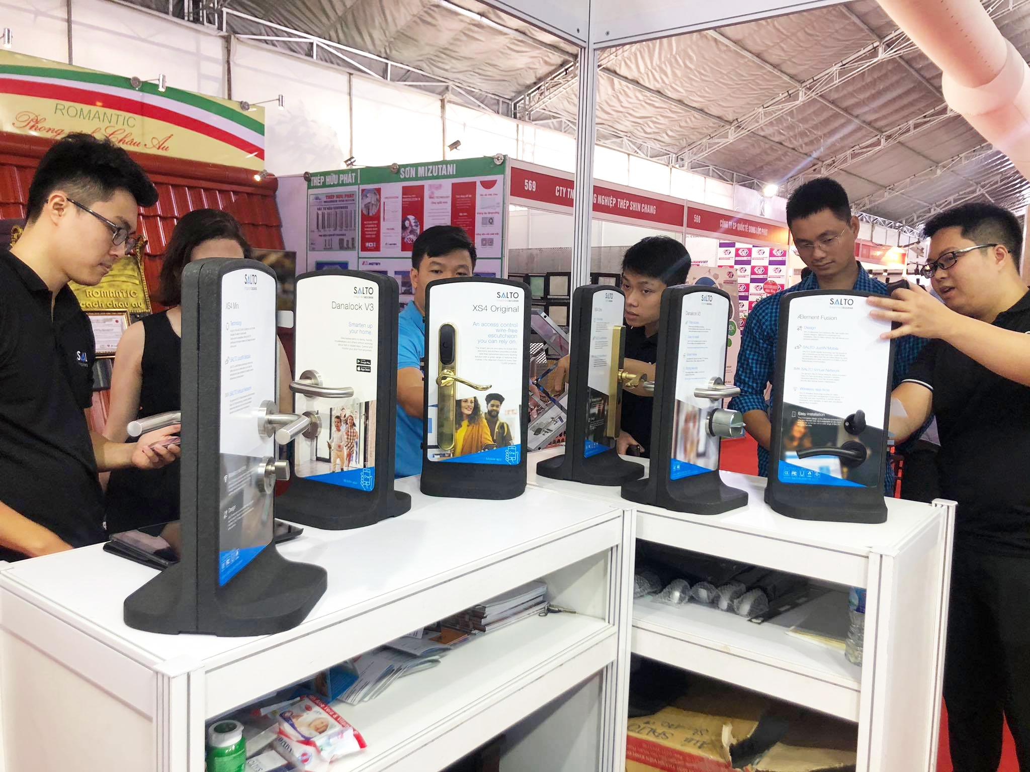 ATIG cho ra mắt giải pháp kiểm soát ra vào dành cho doanh nghiệp và khoá điện tử thông minh SALTO tại hội chợ triển lãm quốc tế Vietbuild Hà Nội - 2020